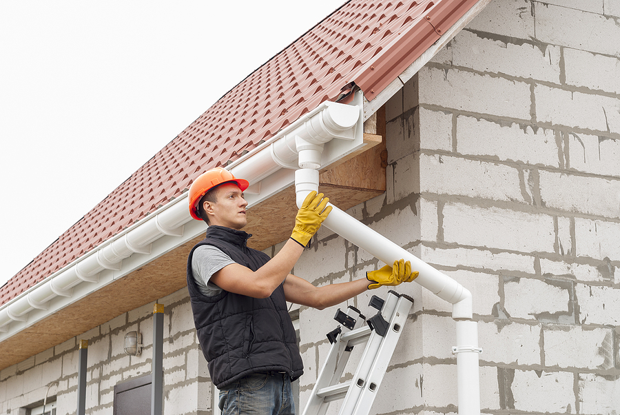 Staying Off A Ladder Is Reason Enough To Invest In Gutter Guards