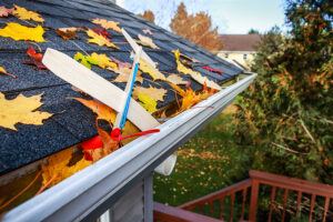 3 Items That Can Clog Gutters